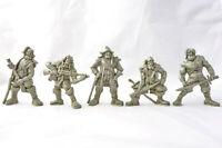 Pirates Of Poseidon 5 Fantasy Figures 54 mm Plastic Toy Soldiers Tehnolog New