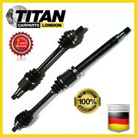 For Ford Focus Ii C-Max 1.6 1.8 2.0 Tdci Tddi Left/Right Driveshaft CV Joint X 2