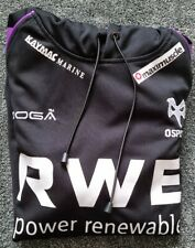 Ospreys Rugby Home Shirt 2010-11 Hoodie, By Kooga - Small/ Used