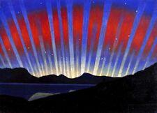 Aurora Borealis : Luigi Russolo C1938 Archival Quality   Art Print