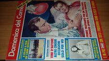 Rivista Domenica del Corriere n. 29 1976 con inserto Domenica Bis