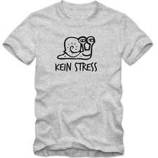 Bequem sitzende Herren-T-Shirts mit Motiv Fun