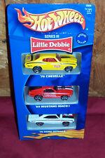 Old Hot Wheels Series III 3 Little Debbie Vintage Diecast Toy Model Muscle Cars