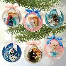 Disney Frozen Sketchbook Ornament Ball Set - 6pc. Nib- Wonderful