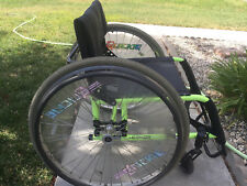 Quickie GPV Wheelchair Neon Green Nice Condition Free Economy Shipping!