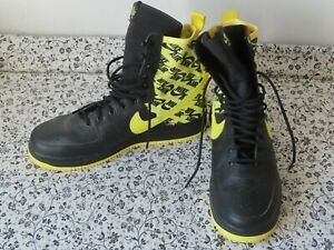 Nike Air Force 1 High SF Af1 Special Field Yellow Logos AR1955-001 Shoes 11.5