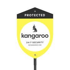 NEW Kangaroo Home Security Alarm Yard Sign To Warn Thrives