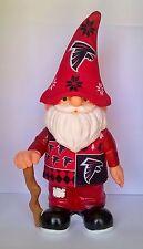 """Atlanta Falcon NFL Un Brutto Maglione Jersey Cappello Team 12"""" Gnome"""
