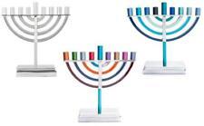 More details for yair emanuel hanukkah menorah with 9 branches jewish candlestick menora chanukah