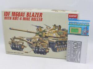 Academy 1367 IDF M60A1 Blazer with KMT-4 Mine Roller 1/35 Kit + EXTRAS