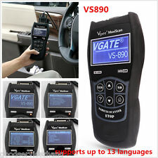 VS890 OBD2 Auto Diagnostic Tool CAN BUS Fault Code Reader Scanner Multi-language