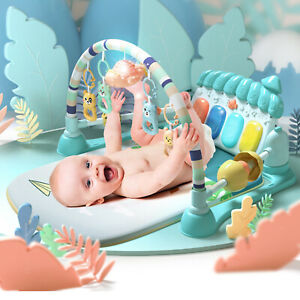 Baby Gym Play Mat Educational with Piano Sound and Music Activity Toy Gift