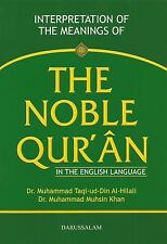 THE NOBLE QURAN IN THE ENGLISH LANGUAGE BY DR. M. MUHSIN KHAN