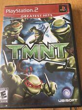 TMNT - Playstation 2 PS2 Teenage Mutant Ninja Turtles