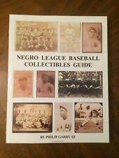 Negro League Baseball Collectibles Guide