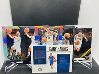 2019-20 Panini Prizm Silver Gary Harris 6 Card Lot Encased Optic Denver Nuggets