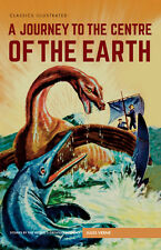Classics Illustrated Hardback A Journey to the Centre of the Earth (Jules Verne)