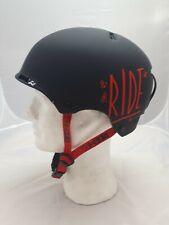 Ride Snowboard Helm Ninja Park Schwarz M Ski Rad Skateboard E-Roller Helm