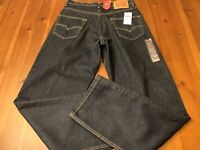 Levis 550 Relaxed Stretch Mens Size 30X32 Zipper Fly Jeans New With Tags