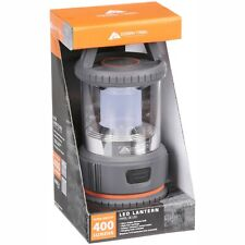 Ozark Trail Outdoor Equipment 400 Lumen LED Camping Lantern Lightweight Gray