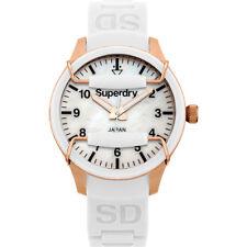 Reloj Superdry SYL128W Scuba Lady Reloj estilo buceo de color blanco-rosado-M.OP