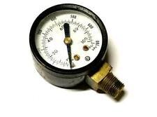 "CPI 0-100 PSI 0-700 kPa Pressure Gauge 1/8"" NPT Bottom Mount"