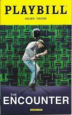 The Encounter Broadway Playbill, Opening Night
