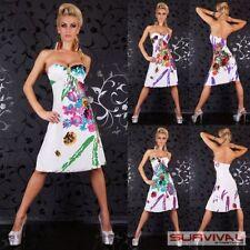 Spring Knee Length Polyester Dresses for Women