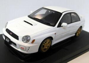 Autoart 1/18 Scale Diecast  78643 Subaru New Age Impreza WRX STi white