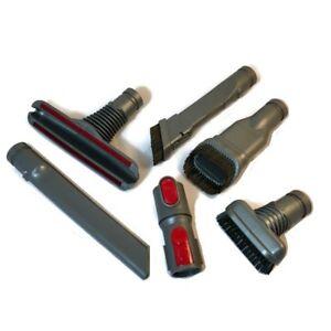 Dyson V7 V8 V10 V11 6 Piece Tool Set - Crevice Brush Nozzle Mattress Tools etc.