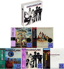 EARTH, WIND & FIRE That's the Way... Japan Mini LP 6 Blu-spec CD (5 titles) BOX