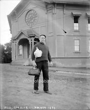 "Photo 1890s Univ Calif Berkeley ""Football Trainer"""