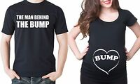 Bump Maternity Couple T-shirt dad and mom Maternity Tee Baby announcement Shower