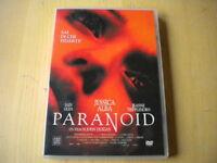 Paranoid DVD Jessica Alba Glen Tripplehorn thriller lingua italiano inglese