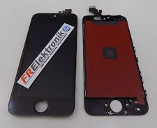 Qualitäts Display LCD für iPhone SE mit RETINA Glas Komplett Front Schwarz Black