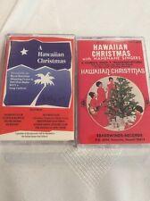 Lot Of 2 Hawaiian Christmas Cassettes RARE Play tested Free Ship!