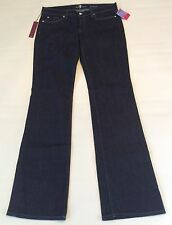 New!! 7 FOR ALL MANKIND Women's Bootcut Dark Wash Jeans Size 31