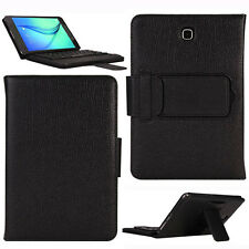 Black Bluetooth 3.0 Keyboard Case Cover For Samsung Galaxy Tab E 8.0inch T377