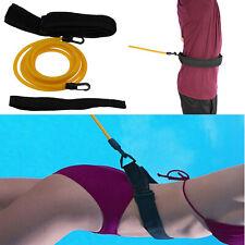 Swim Bungee Training Belt Swim Resistance Leash Exerciser Belt Swim Tether