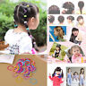100Pcs Lots Cute Kids Girl Elastic Hair Bands Ponytail Holder Head Rope Ties Hot