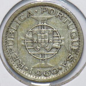 Portugal 1960 Mozambique 5 Escudos 192504 combine shipping