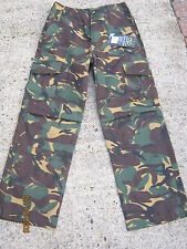 Kids Army Camouflage Combat Trousers Size 11 to 12 Years