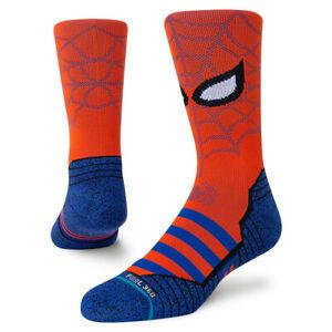 Stance x Spider-Man Spidey Athletic Socks Large Men's 9-13 Infiknit Run Socks