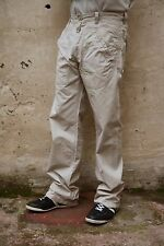 REPLAY VINTAGE STRAIGHT LOOSE FIT JEANS BEIGE DENIM 80s FAMOUS QUALITY W32 L34