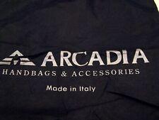 Arcadia Handbags black dustbag/dust cover