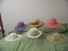 Lot of 6 Assorted Womens Hats