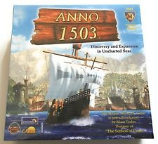Anno 1503 Uncharted Seas Mayfair Games Pro Ludo NEW nib Boardgame