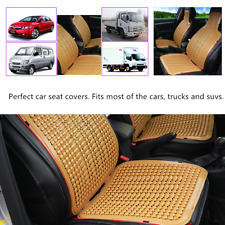 1x Universal Truck Natural Cool Summer Seat Massage Car Cushion Home Chair Cover