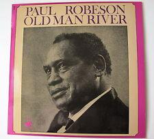 PAUL ROBESON.. .......OLD MAN RIVER....en puplic ....LP