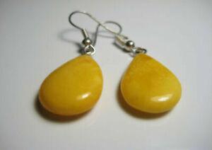 Butterscotch Baltic AMBER Natural Earring !!!